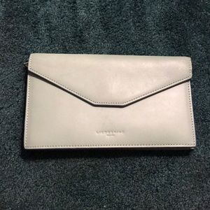 LIEBESKIND Light green leather wallet